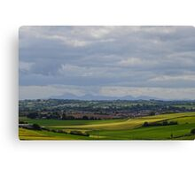 Mournes from Scrabo Hill Canvas Print