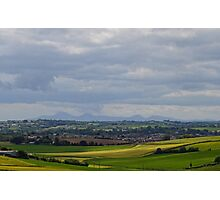 Mournes from Scrabo Hill Photographic Print