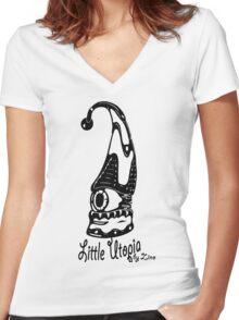 Jump Little Utopia Women's Fitted V-Neck T-Shirt