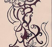 Tattoo i just designed saying VampiX by VampiX