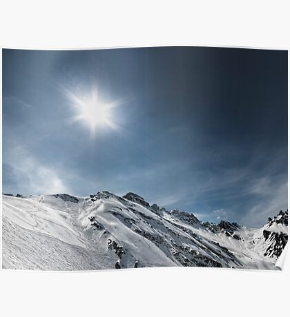 frozen mountains Poster