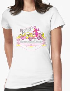 Penelope Pitstop - Penelope's Pitstop T. Womens Fitted T-Shirt
