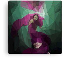 Smokescreen - Vector Graphic Canvas Print