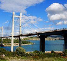 Chalkida Bridge,Evia island by DimitriS-Gr