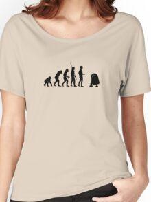 evolution robot Women's Relaxed Fit T-Shirt