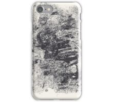 Series Nightmare #3 - Le double Martyre de St Sébastienne - Monotype iPhone Case/Skin