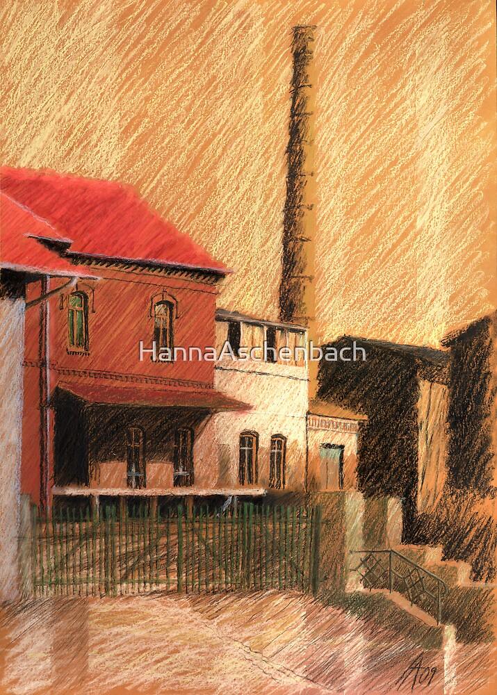 old worker by HannaAschenbach
