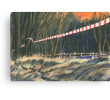 Grenze Canvas Print