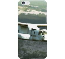 OSPREY V-22 Aircraft digital painting - USAF Marines iPhone Case/Skin