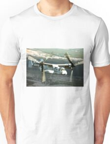 OSPREY V-22 Aircraft digital painting - USAF Marines Unisex T-Shirt