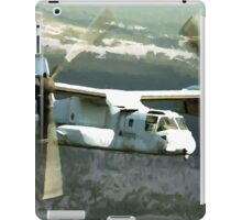 OSPREY V-22 Aircraft digital painting - USAF Marines iPad Case/Skin