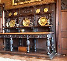 Sideboard, Dining Room: Scotney Castle.  by DonDavisUK