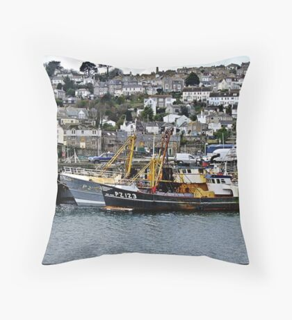 """"""" Old Newlyn"""" Throw Pillow"""