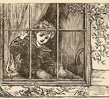 Five Mice in a Mouse Trap Laura Elisabeth Howe Richards and Kate Greenaway 1881 0065 Nibble Sat Down by the Window by wetdryvac