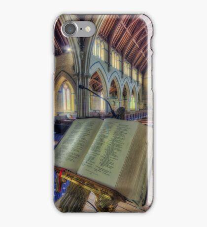 Let Us Pray iPhone Case/Skin