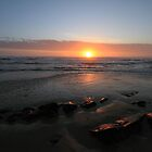 Sunset in Port Elizabeth, South Africa by Carel du Preez