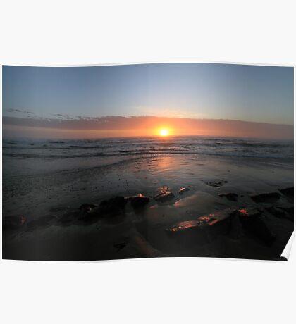 Sunset in Port Elizabeth, South Africa Poster