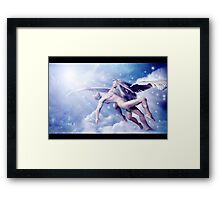 Heavenly Rescue: Part of DREAMS Series # 2 Framed Print