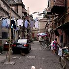 Chinese Laundry - Shanghai, China by Norman Repacholi