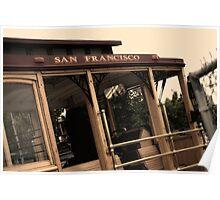 San Francisco Trolley Poster