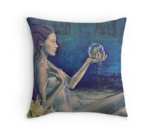 """Sandcastles""  from ""Whispers"" series Throw Pillow"
