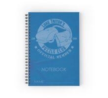 Luke Triton's Puzzle Club Notebook Spiral Notebook