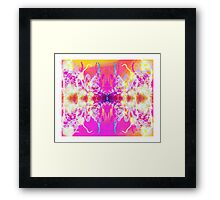 THE SPIRIT MOLECULE Framed Print