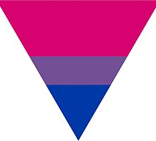 Bisexual triangle flag by Margotte