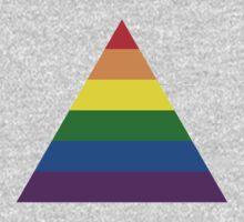 LGBT triangle flag Baby Tee