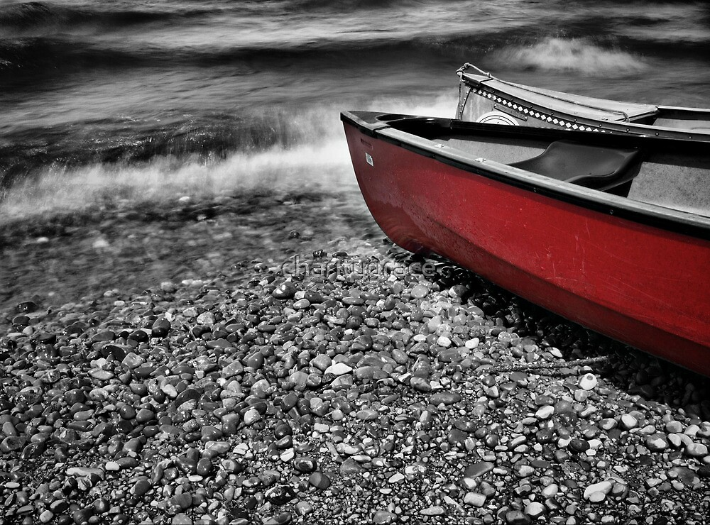 Red boat by charitygrace
