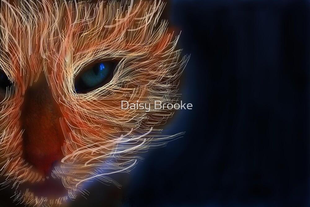 fire cat 2 by Daisy Brooke