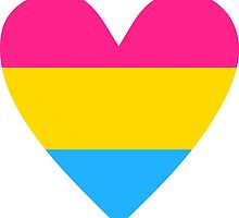 Pansexual heart by Margotte