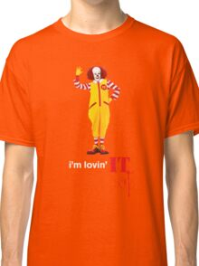 Pennywise lovin' IT ( White Font ) Classic T-Shirt