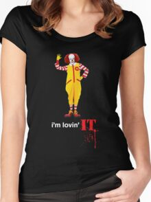 Pennywise lovin' IT ( White Font ) Women's Fitted Scoop T-Shirt