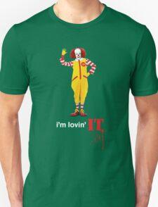 Pennywise lovin' IT ( White Font ) Unisex T-Shirt