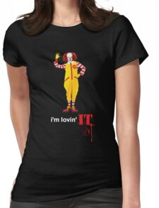 Pennywise lovin' IT ( White Font ) Womens Fitted T-Shirt