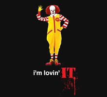 Pennywise lovin' IT ( White Font ) Unisex T-Shirt