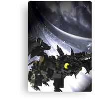 "Lego ""how to train your dragon"" - Toothless Canvas Print"