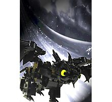 """Lego """"how to train your dragon"""" - Toothless Photographic Print"""