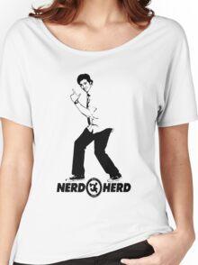 Chuck Bartowski - Buy More - NERD HERD Women's Relaxed Fit T-Shirt