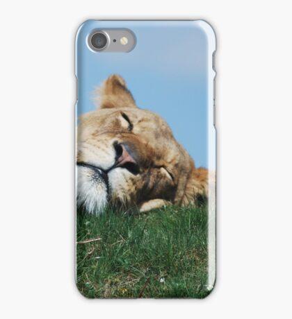 When the Lion Sleeps iPhone Case/Skin
