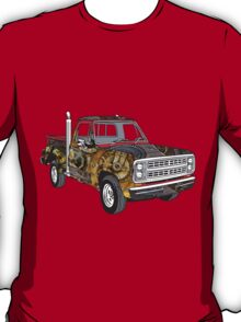 Brass Steampunk Lorry T-Shirt