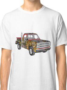 Brass Steampunk Lorry Classic T-Shirt
