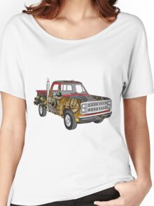 Brass Steampunk Lorry Women's Relaxed Fit T-Shirt