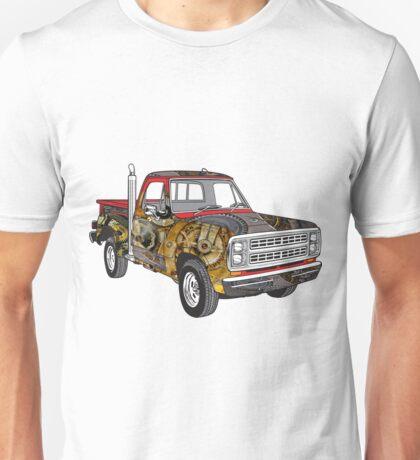 Brass Steampunk Lorry Unisex T-Shirt