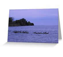 Are We All Here? Good, Lets Go! Greeting Card