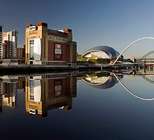 Gateshead Riverside by Great North Views