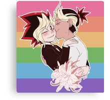 Puzzleshipping lovewins Yu-Gi-Oh! Canvas Print