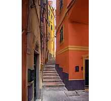 "Lerici - Tipical ""Carobbio"" (Alley) Photographic Print"