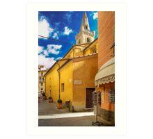 Lerici - San Rocco Church Art Print